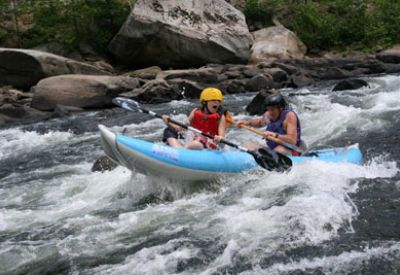 Easy Whitewater Trips